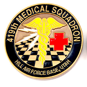 419th med. - Coins and Medallions