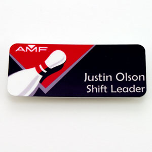 AMF - Name Badges & Plaques