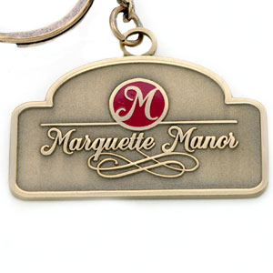 Marquette Manor American Made Key Tags