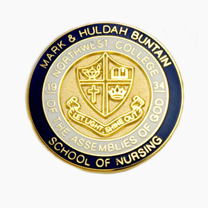 School of Nursing - American Made Die Struck Emblems