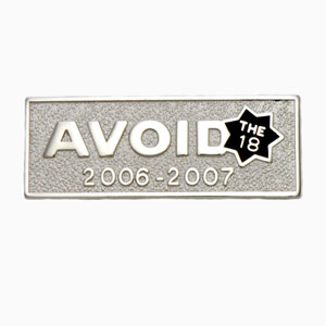 avoid - American Made Die Struck Emblems