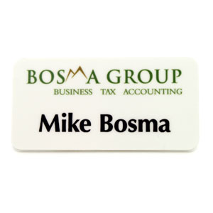 bosma group - Name Badges & Plaques