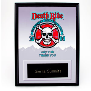 death ride1 - Name Badges & Plaques