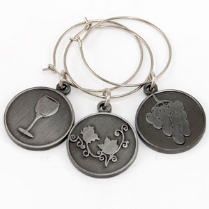 grapes - Wine Charms & Dog Tags