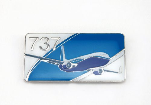 737 die struck - Die Struck Soft Enamel