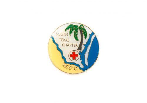 Red Cross texas Die struck Copy - Die Struck Soft Enamel